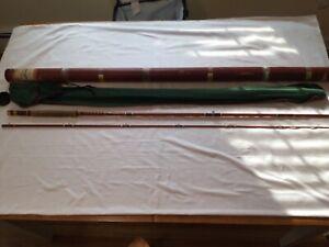 Vintage Fenwick ff 102 Feralite, 2 piece, 8 1/2 ft fiberglass fly rod