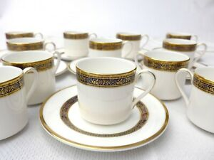 Royal Doulton Harlow H5034 Coffee Cup and Saucer