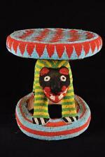 17710 Afrikanische Alte Bamun Hocher / Stool Kamerun