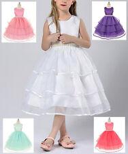 Vestido De Ceremonia Cumpleaños Niña - niña Fiesta vestido 2-13 años años CDR032