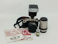 Sigma SA-5 Camera with 28-105mm Lens w/Flash Tested & Works