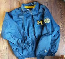 VTG Pro Player Michigan Wolverines Jacket Mens XL NCAA U of M Coat NICE!