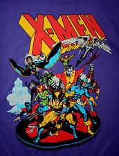 Marvel Comics Classic X-Men Purple T-Shirt New Large Tags Mad Engine