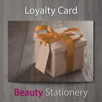 Loyalty Card Beauty Salon Hairdressing Spa Massage Therapist A8 Mini