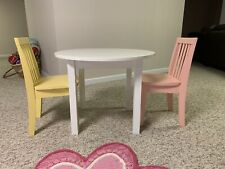 Children's wood table and chair set (For Local Pick Up Only)