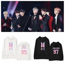 KPOP BTS Cap Hoodie Bangtan Boys Sweatershirt Love Yourself Pullover   JUNG KOOK