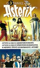 ASTERIX and OBELIX : CAESAR + CLEOPATRE +OLYMPIQUES ,Gérard Depardieu 3 DVD SET