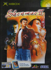 Shenmue II (Microsoft Xbox, 2002) with Movie DVD