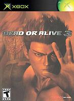 Dead or Alive 3 (Microsoft Xbox, 2001) Complete CIB W/ Manual