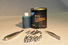RTV Silicone Rubber Tin/Lead Pewter Casting Metal Vulcanizing Mold Making Kit