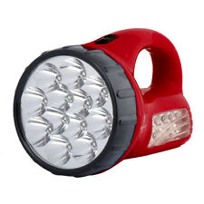 Portable Rechargeable Brightness 12+10 Pcs LED Flashlight Electric Torch Lamp