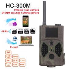 Suntek Hc-300m 12mp 2g MMS GPRS HD 1080p Video Wildlife IR Trail Hunting Camera