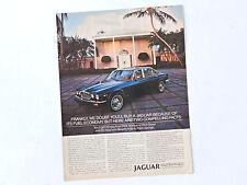 JAGUAR XJ6 / Advert Publicidad Publicite Reklame Car Coche Leyland Rover Triumph
