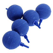 "25mm 1"" Round Ball Air Stones for Pond or Aquarium Fish Pet Tank Pump  5x in Bag"