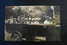 More details for postcard charabanc visiting gough's cave cheddar somerset unposted real photo rp