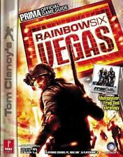 Tom Clancy's Rainbow Six Vegas (Prima Official Game Guide) Knight, David Paperb