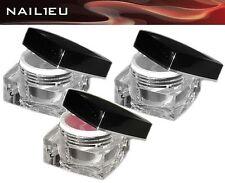 PREMIUMLINE Gel per unghie Set rosa 3x15ml ricostruzione adesivo indurente/