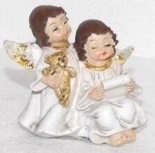 Décoration De Noël Bijou Noël Ange Ours Polyharz 7 4 6,5cm