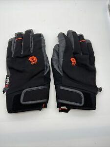 Mountain Hardwear Gloves Men's Winter Gloves Leather Palm Size Large