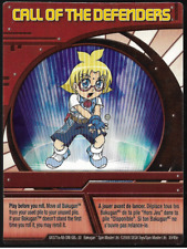 Bakugan  Red Ability Card Call of the Defenders (Marucho) BA377a 30/48e
