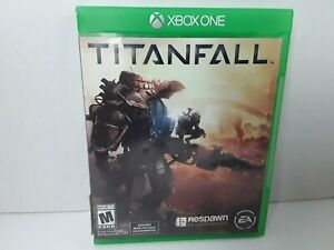 Titanfall Xbox One 2016 Microsoft EA no manual Pre Owned Authentic Read