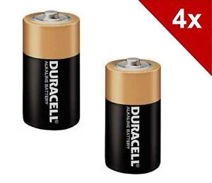 4x Duracell Baby C Alkaline Batterien LR14 MN1400 1,5V Alkaline *4 Stück*