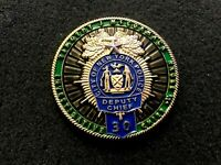 VERY RARE NYPD DEPUTY CHIEF DETECTIVE BOROUGH THE BRONX CHALLENGE COIN