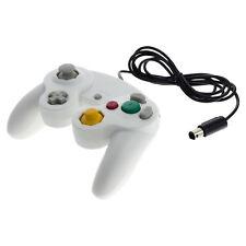 Gaming gamepad controlador GameCube GC con vibración para Nintendo Wii-blanco