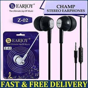 Earphones Headphones with Mic In-Ear Earbud Handsfree Headset For Samsung iPhone