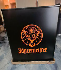 Jägermeister Kühlschrank Ice Cube schwarz/orange Husky