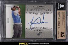2014 Exquisite Collection Endorsements Tiger Woods AUTO /75 #EETW BGS 9.5 GEM MT