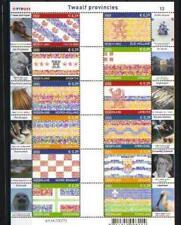 Nederland 2002 vel 12 provincies V2065-2076 MNH