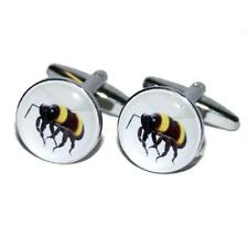 Honey Bee Bumble Keeper Honey Seller Hive Christmas Birthday Present CUFFLINKS