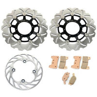 Front Rear Brake Discs Rotors set for Honda CBR 600RR CBR600RR RR5 RR6 2005 2006