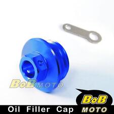 CNC Engine Blue Oil Filler Cap For YAMAHA XT250X 2006-2013 07 08 09 10 11 12 13