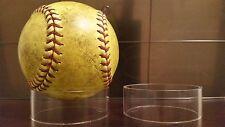 "~15 Round Jumbo 3"" Display Stand Softball Baseball Balls"