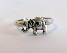 Sterling Silver (925) Adjustable Elephant Toe Ring ! Brand New !