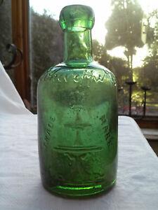 Schweppes fountain pictorial dumpy seltzer mineral bottle c1890-1920 Schweppe