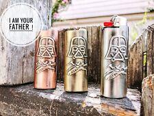 Star Wars Yoda,Darth Vader,Bic Lighter Standard Size J6 Case Cover In Metal set