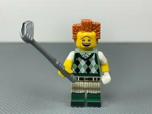 Gone Golfin' President Business Minifig LEGO Movie 2 Minifigure Golfer Golf Club