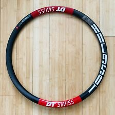 "DT Swiss XRC950T 26"" Carbon Tubular Mountain Bike Rim, 650c, 28 Hole, NEW"