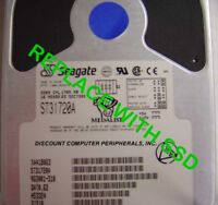 """SSD Seagate ST31720A 3.5"""" IDE Drive Replace with this SSD 2GB 40 PIN IDE Card"""