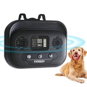 US Ultrasonic Stop Barking Away Anti Bark Control Dog Training Repeller Silencer