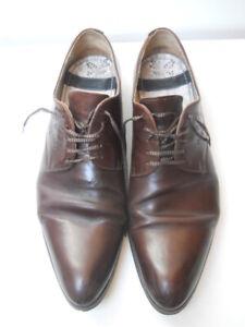 Paire de chaussures marron  tout cuir Kenzo Taille 43 petit prix !