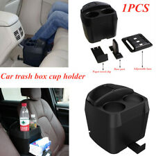 Multi-purpose Car Trash Box Garbage Container Dust Bin Parts Cup Holder x1PC