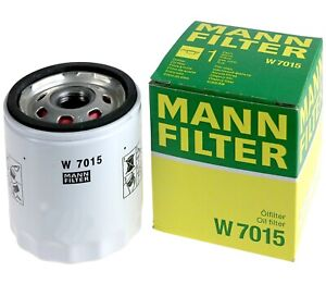 Mann-filter Oil Filter W7015 fits FORD AUSTRALIA MONDEO MD 2.0 EcoBoost
