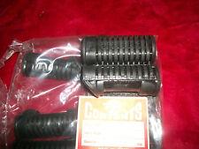 Honda CB450KO (50661-283-010) Black Bomber Foot Peg Rubbers Pair New