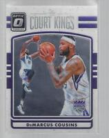 2016-17 DONRUSS OPTIC COURT KINGS #13  DeMARCUS COUSINS  KINGS