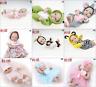"11""Newborn Reborn Dolls Baby Girl Boy Clothing Handmade Toy Dress Up kid Gift UK"