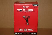 """New Milwaukee M18 FUEL 3/8"""" Compact Impact Wrench w/ Friction Ring  2754-20"""
